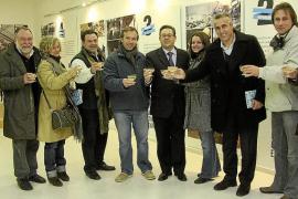 Inauguración de la exposición de Fotoperiodismo en Es Castell