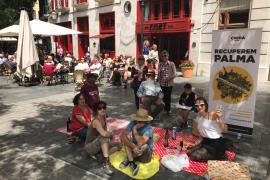 Crida per Palma plantea derogar la ordenanza de ocupación de la vía pública