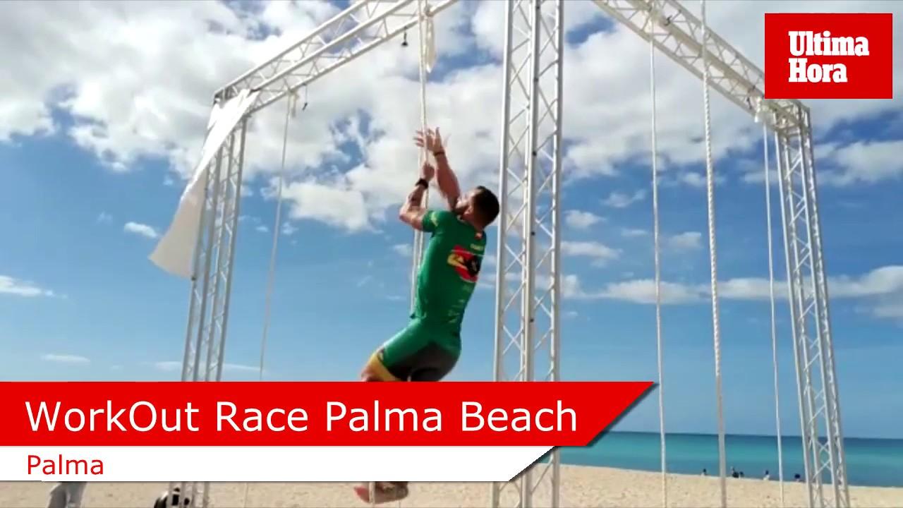 Más de 350 personas participan en la WorkOut Race Palma Beach