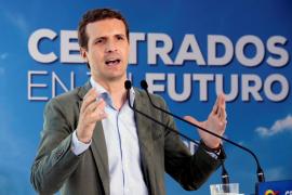 Casado dice que seguirá liderando el PP pase lo que pase y acusa a Ciudadanos y Vox de plagio