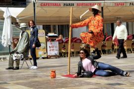 Abierto el plazo para tramitar los carnés de artista callejero en Palma