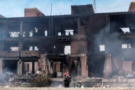 El Ayuntamiento de Ibiza evaluará el estado del edificio quemado