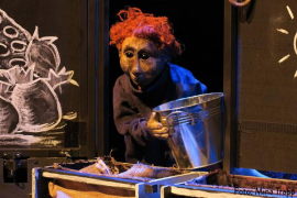 La historia de 'Roig Pèl-boig' en el Festival Internacional de Teatre de Teresetes