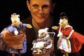 El espectáculo de marionetas 'Les grand-mères sont des anges' en el Festival Internacional de Teatre de Teresetes