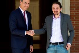 PSOE y Unidas Podemos ensayan en el Congreso su posible acuerdo tras el 26M