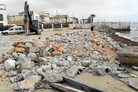 Las obras del puerto del Molinar no se paralizarán durante el verano