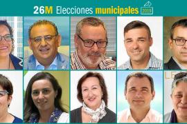 26M: Candidatos al Ajuntament de Calvià