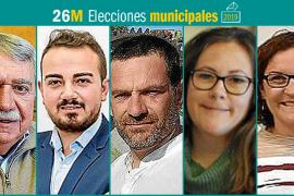26M: Candidatos al Ajuntament de Consell