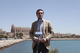 Casado anuncia en Palma que el PP iniciará la legislatura con una ley contra okupas