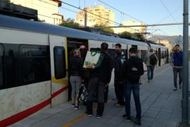 Interrumpida la circulación de trenes entre Palma y Marratxí