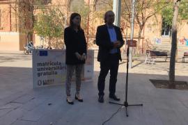El PSIB-PSOE promete la gratuidad de la primera matrícula universitaria en cada asignatura