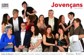 La Sala Major del Teatre de Manacor acoge la pieza teatral 'Jovençans' de Rosa Sunyer