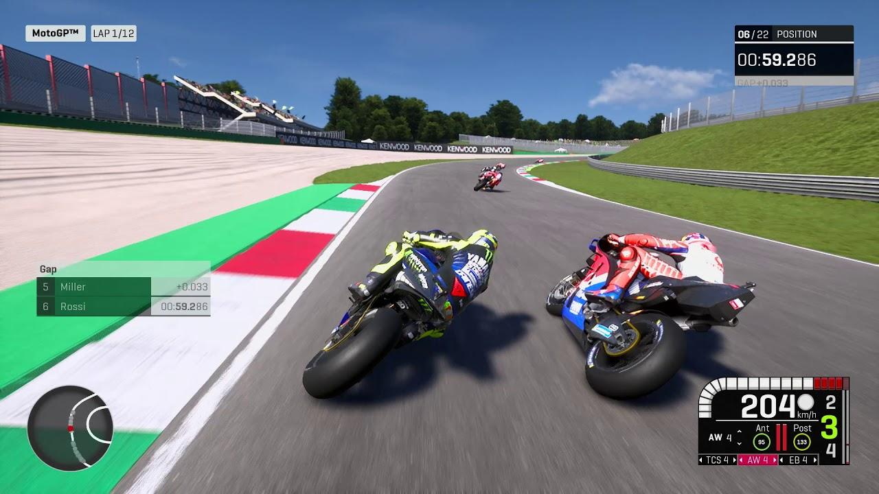 MotoGP 19, primer gameplay