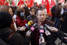 Bravo llama «fascista» a Bauzá por acusar a los sindicatos de «poner la mano»