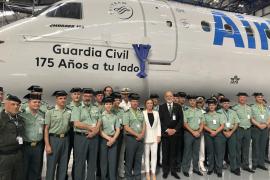 Félix Azón, en Palma: «Hoy es un buen día para la Guardia Civil y para la Justicia»