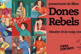 Presentación del libro 'Dones Rebels' de Aina Torres i Rexach en Rata Corner