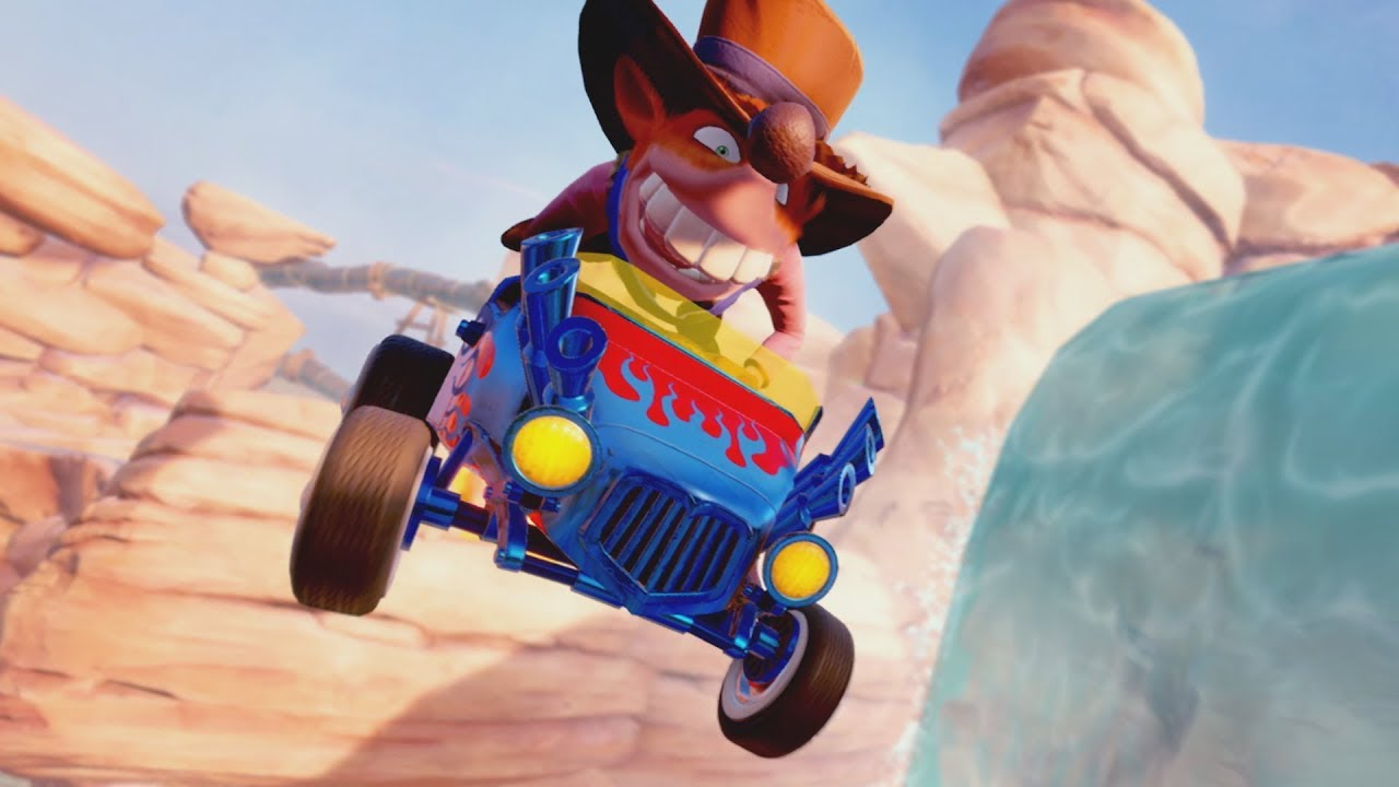 Llega la customización a Crash Team Racing Nitro-Fueled