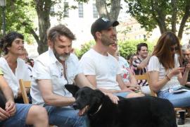 Dani Rovira y Fernando Tejero apoyan las medidas en defensa de los animales de Más Madrid