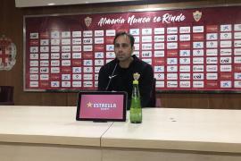 Fran Fernández: «En Mallorca los dos equipos queremos ganar sí o sí»
