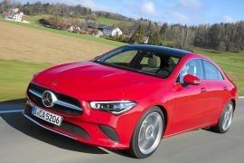 El Mercedes Benz CLA Coupé, más deportivo y emocional