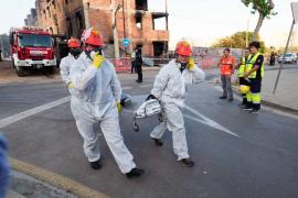 Detenida la pareja de la mujer muerta en el incendio del edificio okupado en Ibiza