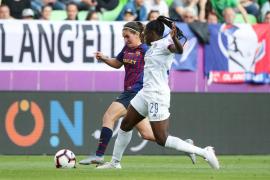 El Lyon atropella al Barcelona en la final de la Champions