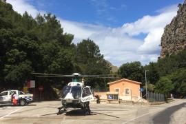 Herido grave un bebé de 19 meses al caer de 7 metros en Sa Calobra