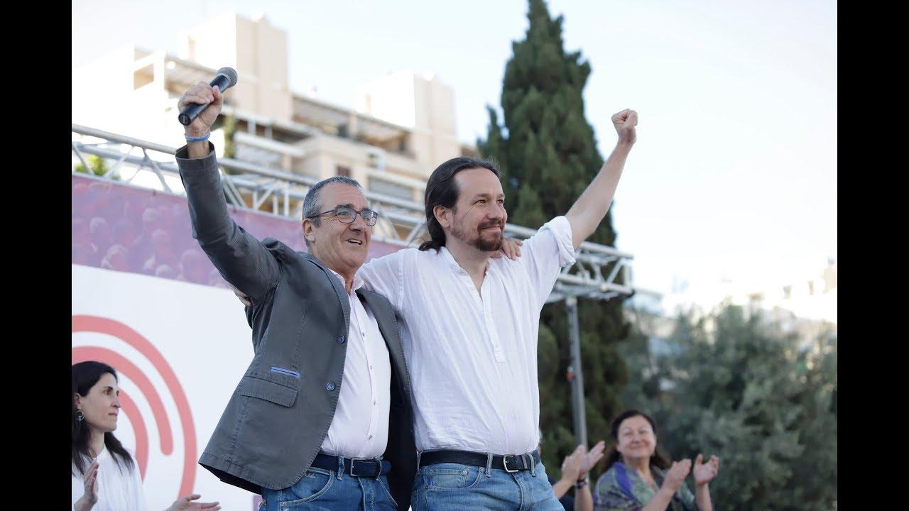 Iglesias pone a Baleares de ejemplo para el futuro Gobierno de Sánchez