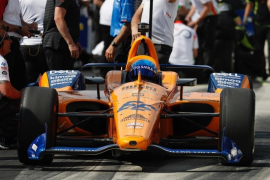 Fernando Alonso no se clasifica para las 500 millas de Indianápolis