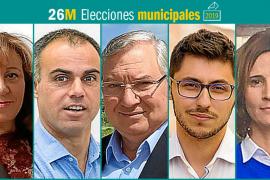 26M: Candidatos al Ajuntament de Santa Margalida
