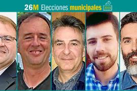 26M: Candidatos al Ajuntament de Santa Maria