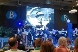 Gran éxito en Dénia del concierto de 'big bands' de la Banda de Música de Sant Antoni