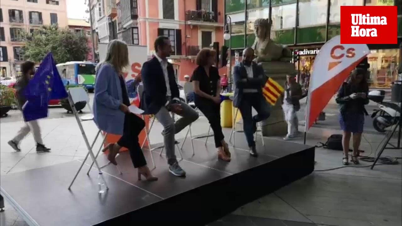 Bauzá dice en Palma que la «gran virtud de Cs es que defiende lo mismo en cualquier lugar de España»