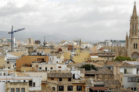 Vista general del casco antiguo de Palma