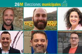 26M: Candidatos al Ajuntament de Sencelles