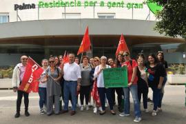 Los trabajadores de las residencias privadas y concertadas piden un aumento de plantilla