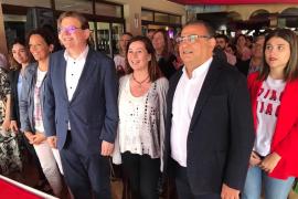 Armengol y Puig quieren declarar en emergencia climática Baleares y Valencia