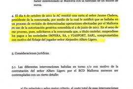 La administración concursal pedirá la nulidad del contrato de Alejandro Alfaro