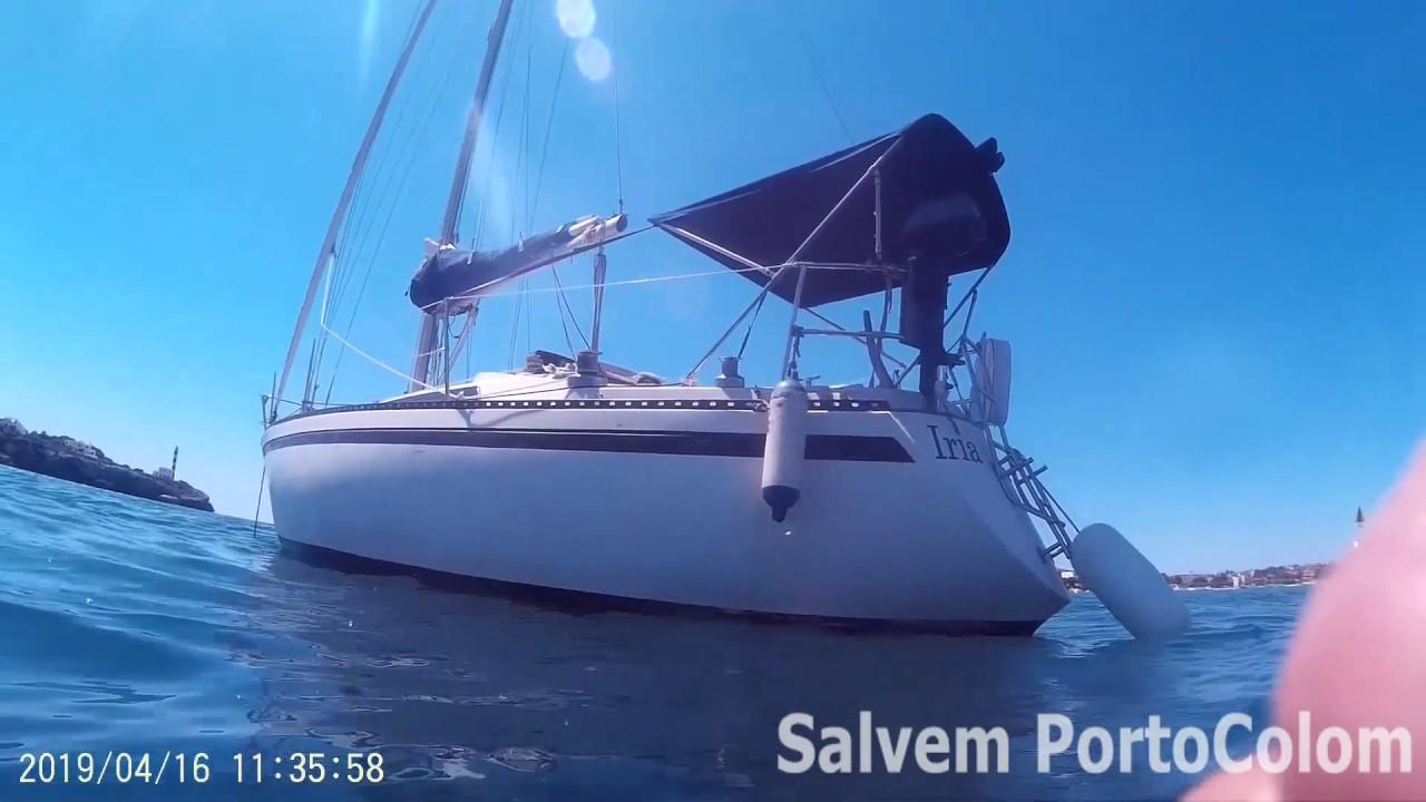 Salvem Portocolom denuncia las agresiones de embarcaciones a la posidonia