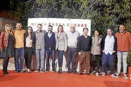 Presentación de Andrés Fernández como candidato del PSIB-PSOE en Santa Maria