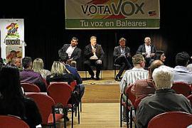 Vox estrena en Inca una nueva forma de hacer campaña