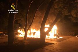 Detenido por provocar un incendio en un parque infantil de Inca y robar en dos restaurantes