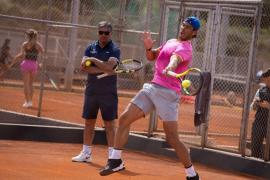 Nadal ultima su preparación para Roland Garros