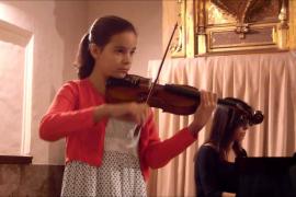 Concierto benéfico de la violinista Clara Bausá este jueves