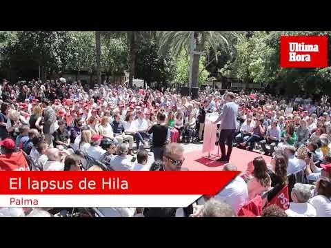 El lapsus de José Hila ante Pedro Sánchez