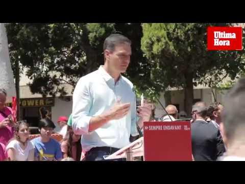 Pedro Sánchez, convencido de que los socialistas ganarán el 26M en Baleares