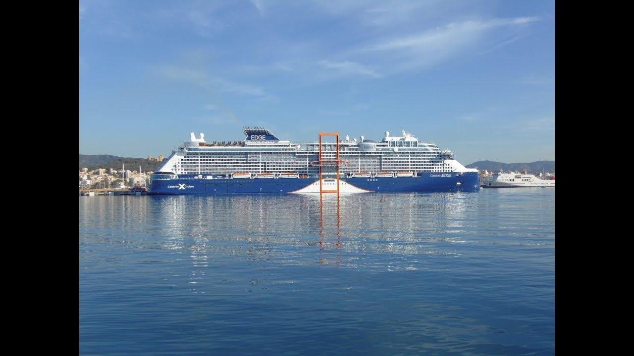 Llega a Palma el crucero del futuro