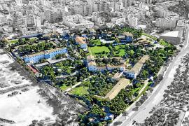 Salut proyecta un parque sanitario en la parcela del Hospital Psiquiátrico