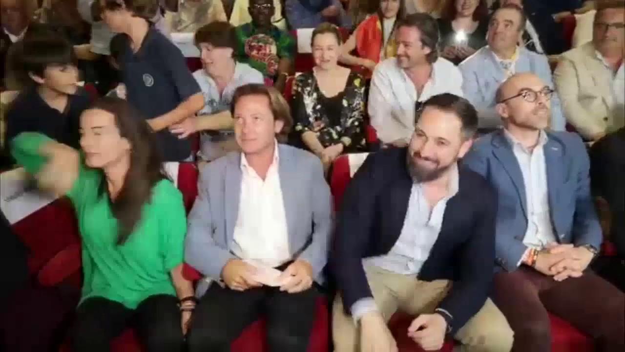 Abascal en Palma: «Hay que votar para detener el pancatalanismo»