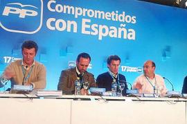 Bauzá dice que el PP llega al congreso unido y Huguet medita presentar candidatura